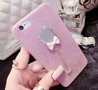 Luxury Diamond Bling Glitter Cute Soft TPU Case Cover For iPhone 5 6 6S 7 8 Plus