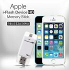 USB i Flash Drive U Disk 8 pin Memory Stick Adapter For iPhone 5 6 6S plus 64GB