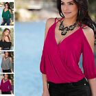 New Women's Summer V Neck Sleeveless Shirt Top Loose Ladies Sexy Casual Blouse