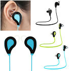 1x Universal Bluetooth Headphone Wireless Stereo Headset Sports Running Earbuds
