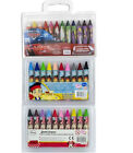 10 Pk Disney Minnie Mouse ,Jake The Pirate ,Cars ,Jumbo Colouring Crayons Kids