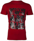 ARMANI EXCHANGE AX Mens T-Shirt AN-19 Slim RED Casual Designer $45 Jeans NWT