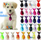 Solid Adjustable Grooming Necktie Puppy Kitten Adorable Pet Bow Tie For Dog Cat