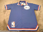 Philadelphia 76ers Sixers VINTAGE Snap Button-up Stitched M&N Warm-up Jacket NEW