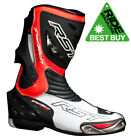 RST TRACTECH EVO CE 1516 MOTORCYCLE BOOTS FLO RED