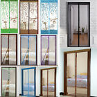 Hands Free Magic Mesh Screen Net Door with Magnets Anti Mosquito Fly Bug Curtain