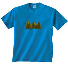 Hit The Trail Backpackers Hikers PCT Trails Day Hikes T-Shirt Clearance