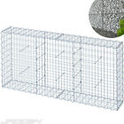 Garden Gabion Basket Wall Mesh Fence Planter Wire Set Choice 8 Sizes Selectable