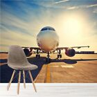 Airplane Sunrise Wall Mural Aeroplane Photo Wallpaper Bedroom Home Decor