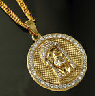 Men Fashion Hot blessing Hipster Gold Nightclub bar Hip-Hop Necklace Pendant