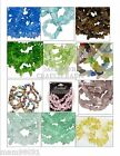 Beads GLASS CHIPS ~ Various Colors & Sizes