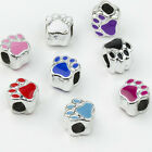 Fashion Big Hole Alloy Spacer Beads/ Holes Size 5mm