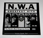 "SEALED & MINT - N.W.A. - GREATEST HITS - DOUBLE 12"" VINYL LP - NWA RECORD ALBUM"