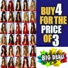 Lady Long Straight Curl Wavy Wig Cosplay Full Ladies Hair Wig Blonde Wholesale