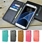 For Samsung Galaxy S7 Edge / S8 / S9 Plus / Note 8 Leather Wallet Case Cover