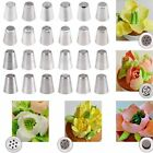 New Russian Tulip Icing Piping Nozzles Stainless Tips Cake Decorating Tool DIY