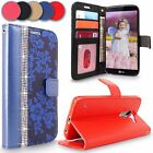 For LG K10 Luxury New Wallet Card Pocket Flip Stand PU Leather Phone Case Cover