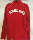 MANTIS 100% COTTON TRACK JACKET RED WITH ENGLAND ON THE BACK ADULT LARGE BNWT