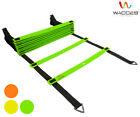 Agility Ladder for Soccer Speed Sports Training Carry Bag 8 12 20 Rungs 3 Colors