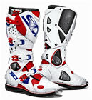 SIDI CROSSFIRE 2 RED/WHITE/BLUE SIZE 41 BOOTS-SPECIAL new