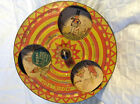 """Very Rare Antique Spinning toy """"MOVIE TOP"""" advertising Peters Shoes 1927"""