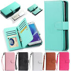 For Samsung Galaxy S7 edge Leather Flip Card Pocket Holder Wallet Case Cover
