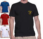 T SHIRT UOMO LAMBORGHINI CON TOPPA PATCH APPLICATA