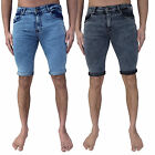 Mens Loyalty & Faith Denim Shorts Skinny Slim Fit Ripped Stretch Jean Acid Wash