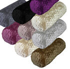 Mp+9 Color Folded Ruffle Thick Velvet Bolster Yoga Case Cushion COVER Customsize