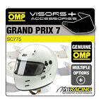 SC775 OMP GP7 GRAND PRIX 7 HELMET OPTIONAL EXTRA VISORS & ACCESSORIES BY OMP