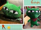 2PM OK TaecYeon 옥택연 OKcat Green Cat Plush Doll Cushion Pillow Gift