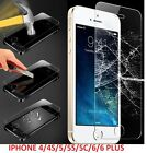 Genuine Tempered Glass Film Screen Protector for Apple iPhone Models 4S,5S,6PLUS