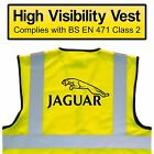 JAGUAR BREAKDOWN High Visibility Hi Viz HV Vest Yellow - VARIOUS Sizes