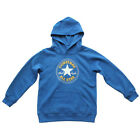 Converse Over Head Chuck Patch Kids Hoody - True Blue All Sizes