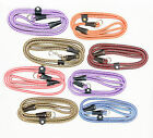 NYLON ROPE SLIP DOG LEAD (Choice of 7colours )