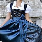 Внешний вид - 043.. Dirndl Oktoberfest German Austrian Dress - Sizes: 6.8.10.12.14.16.18.20.22