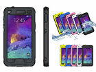 Touchtone Waterproof Shockproof Case Cover Skin For Samsung Galaxy Note 4 N9100