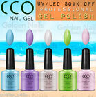 NEW CCO SUMMER COLLECTION PROFESSIONAL UV LED NAIL GEL SOAK OFF POLISH COLOURS