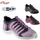 Capezio+Snakespine+DS100+Dance+sneakers+-+purple+or+black+and+pink