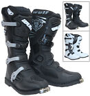 Wulfsport Track Star Motocross Boots MX Motorcycle Enduro Off Road Dirt Bike ATV