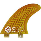 Northcore Slice Ultra Light Hex Core S5 Unisex Surf Gear Fin - Yellow One Size