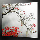 AUTUMN LEAVES MODERN DESIGN CANVAS PRINT READY TO HANG