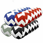ae+ 4 Colors Thick Zig Zag Cotton Canvas Bolster Yoga Cushion Cover Custom Size