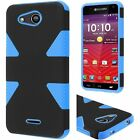 Dynamic Hybrid Case Phone Cover for Kyocera Hydro AIR C6745 LTE / Wave C6740