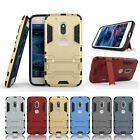 6 Colors Dual Layer PC & Silicone Cover Case for iPhone Samsung LG Huawei Moto