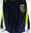 Ed Hardy Christian Audigier mens Sport Series Serpent mesh Shorts athletic blu