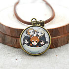 Anime Pocket Watch Patteren Necklaces Cosplay Black Butler Charm Jewelry Pendant