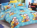 2016 Garfield Cat Bedding Set for Twins/Single Queen King Bed BLUE RARE