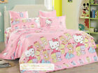 2016 Hello Kitty Bedding Set for Twins/Single Queen King Bed Cotton RARE