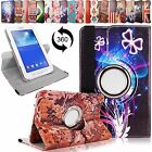 For Samsung Galaxy Tab 2 7 Inch T110 T111 Leather 360 Rotating Stand Case Cover